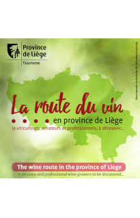 The wine route in the Province of Liege