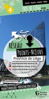 Carte du Réseau Points-Nœuds au Pays de Liège