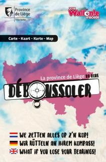 Die Provinz Lüttich wird Sie verwirren - Karte Geheimtipps