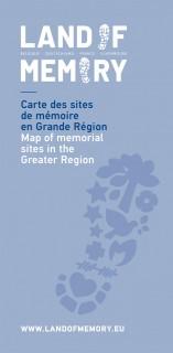 Carte des sites de mémoire en Grande Région