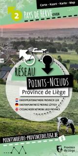 Carte du Réseau Points-Noeuds au Pays de Herve