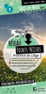 Carte du Réseau Points-Noeuds en Terres-de-Meuse