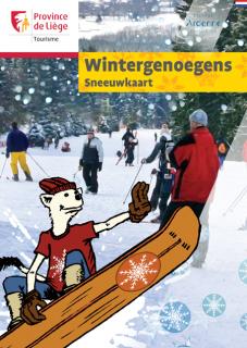 Wintergenoegens - Sneeuwkaart