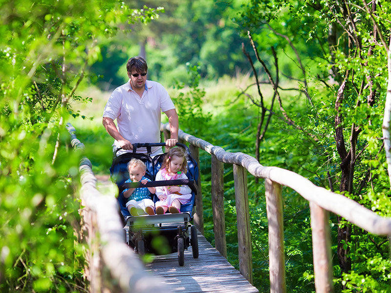 7 ideas for walks with buggies
