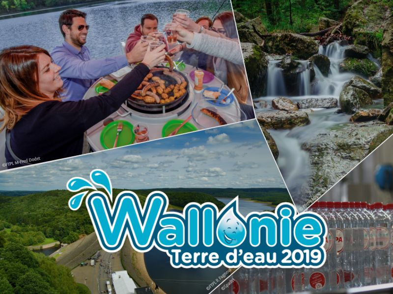Appel à projets Wallonie Terre d'eau 2019