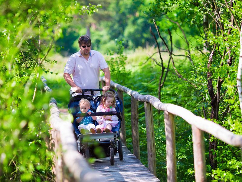 7 ideeën voor wandelingen met kinderwagen