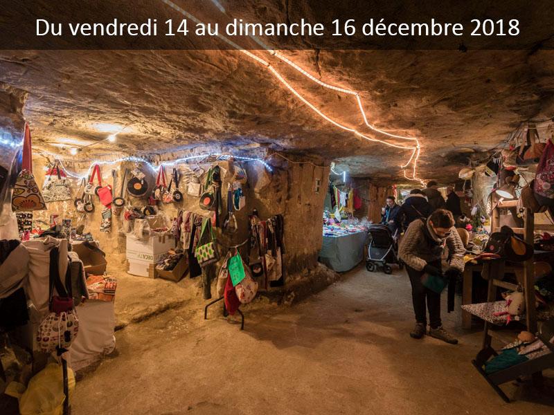 Marché artisanal de Noël dans les grottes de Wonck