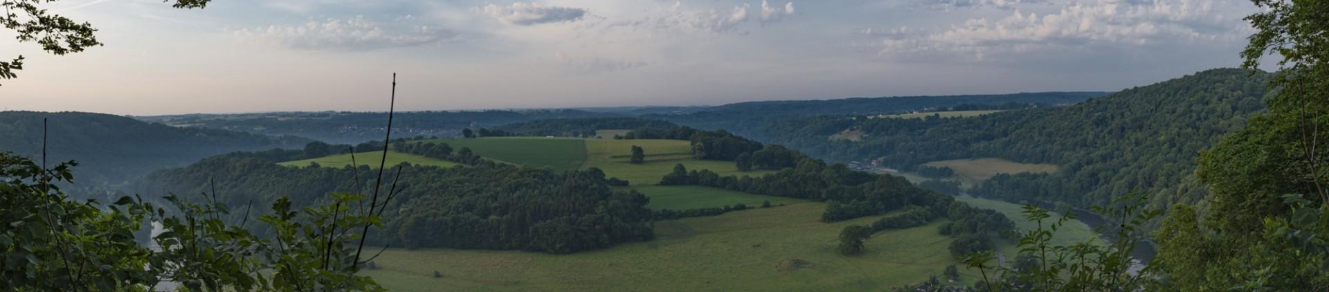 5 idées de panoramas - province de Liège