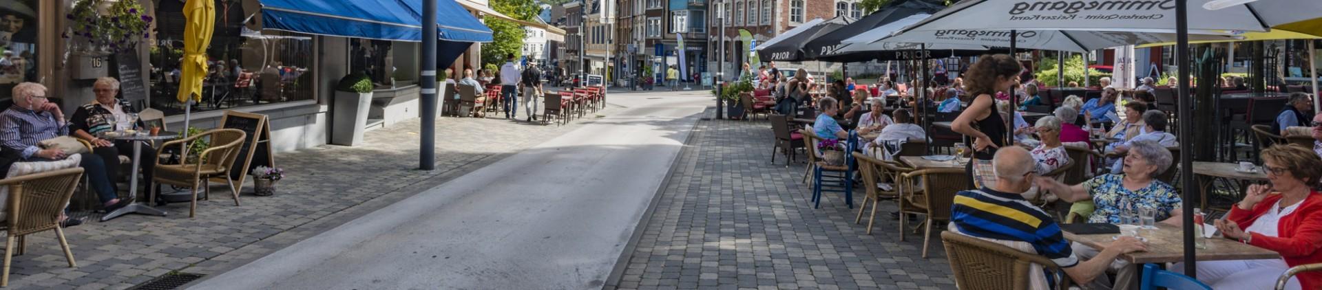 5 idées de terrasses - province de Liège