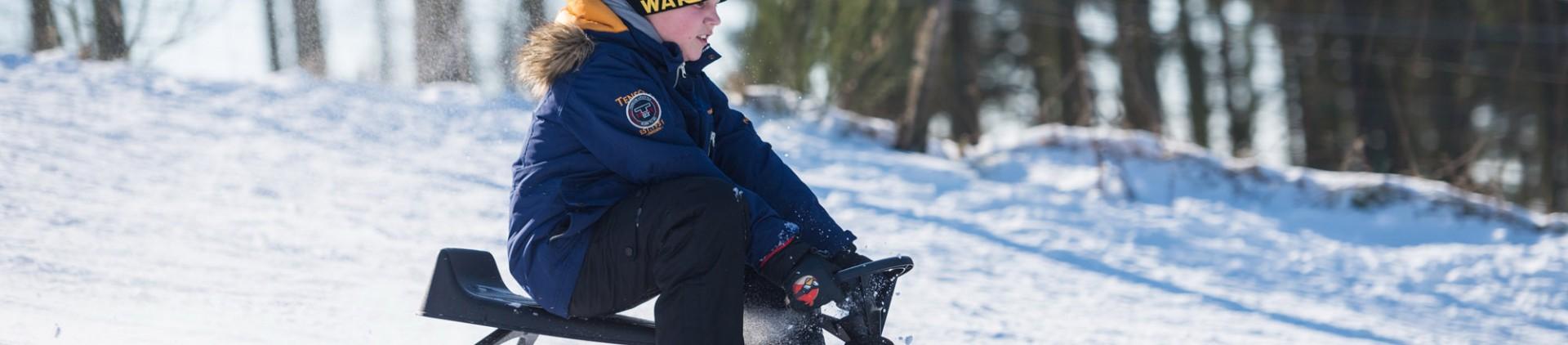 7 lieux où jouer dans la neige avec les enfants en province de Liège