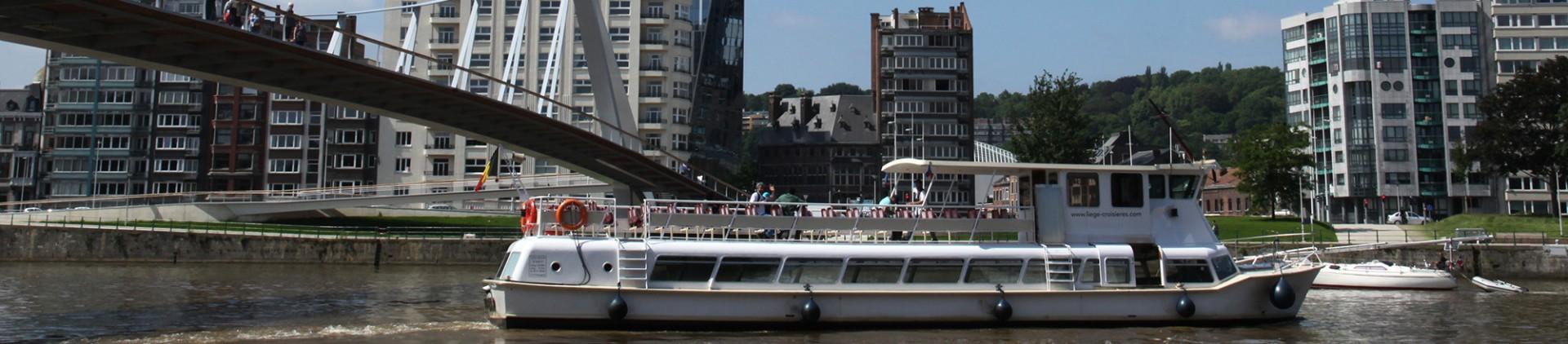 Balades fluviales en province de Liège