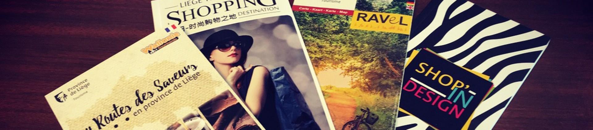 Brochures tourisme province de Liège