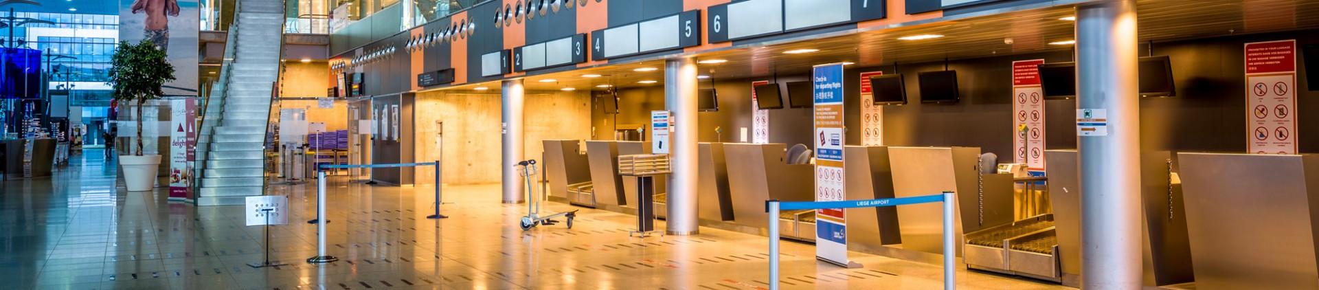Comment venir en province de Liège - en avion