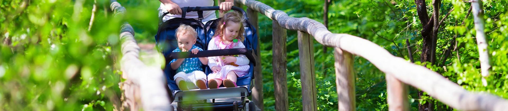 Ideeën voor wandelingen met kinderwagen - Provincie Luik