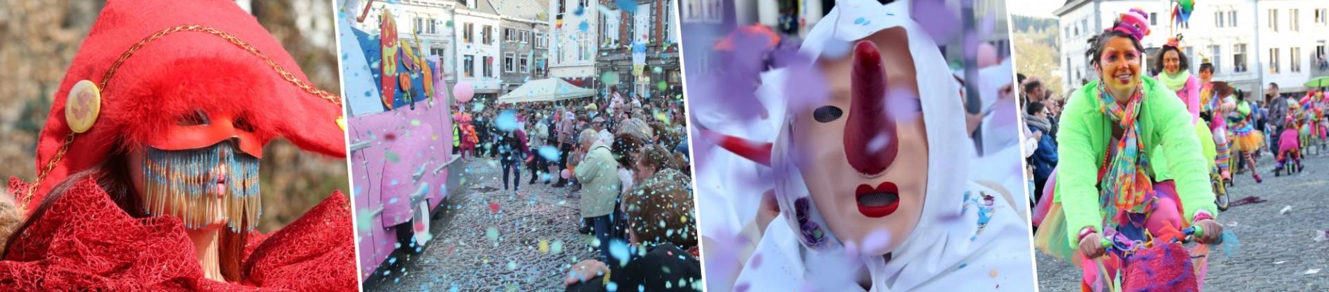 Karnevals in der Provinz Lüttich