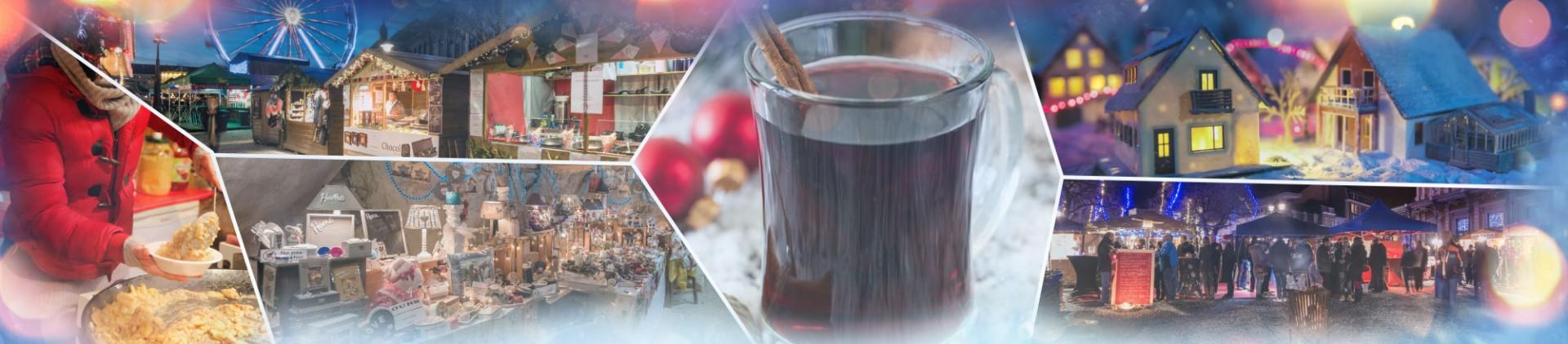Kerstmarkten in de provincie Luik