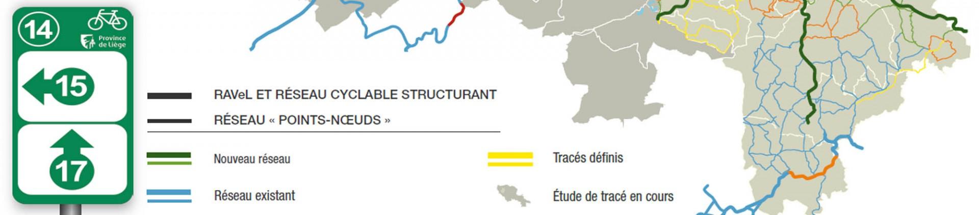 Konsultieren Sie den Stand des Netzwerks - Provinz Lüttich