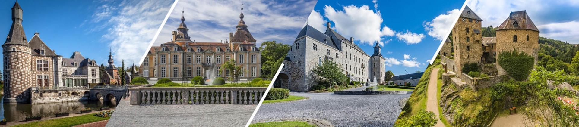 Les Châteaux en province de Liège