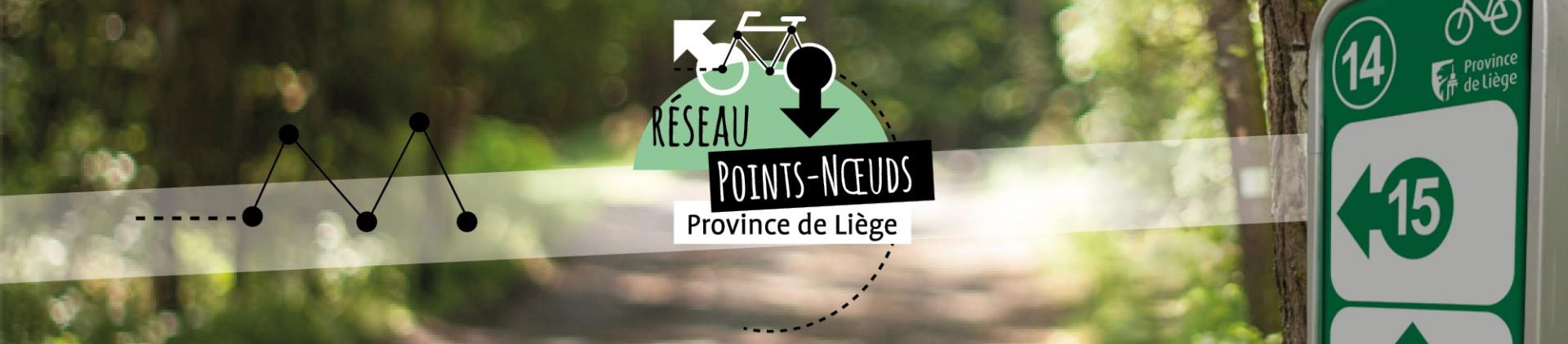 Planificateur points noeuds en province de Liège