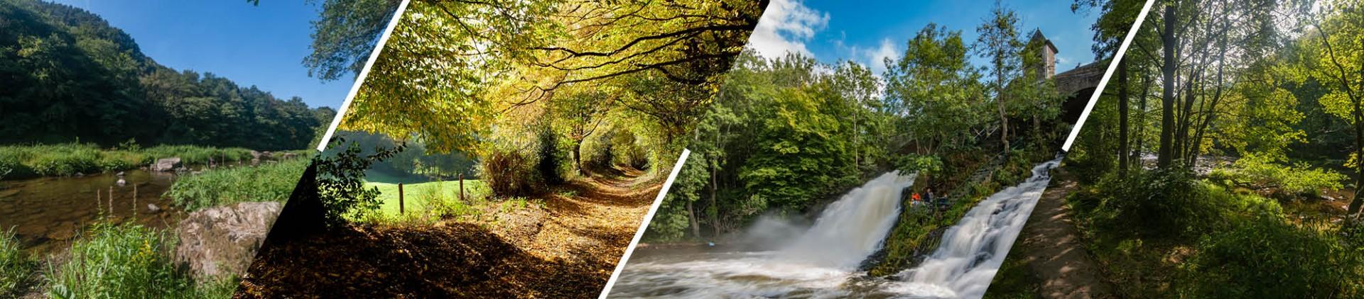 Sites naturels en province de Liège