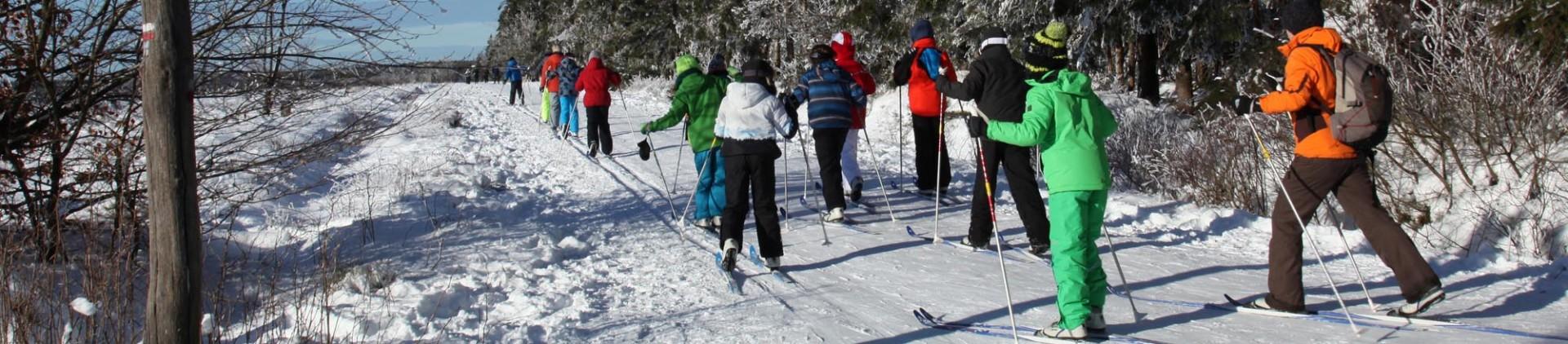 Sports d'hiver en province de Liège