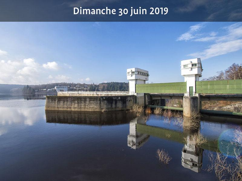 Portes ouvertes aux installations de traitement de l'eau du barrage d'Eupen