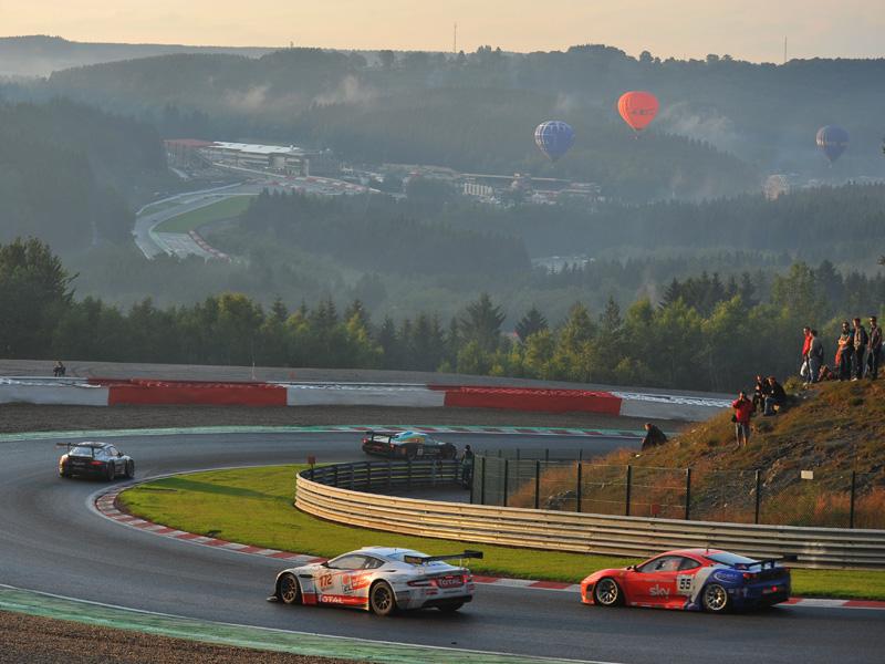 Rennstrecke Spa-Francorchamps