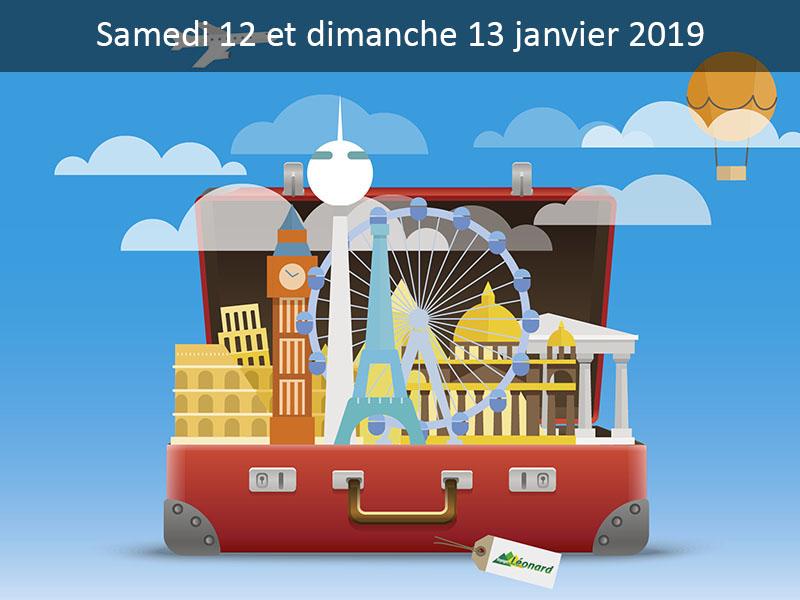 Salon des Vacances Voyages Léonard