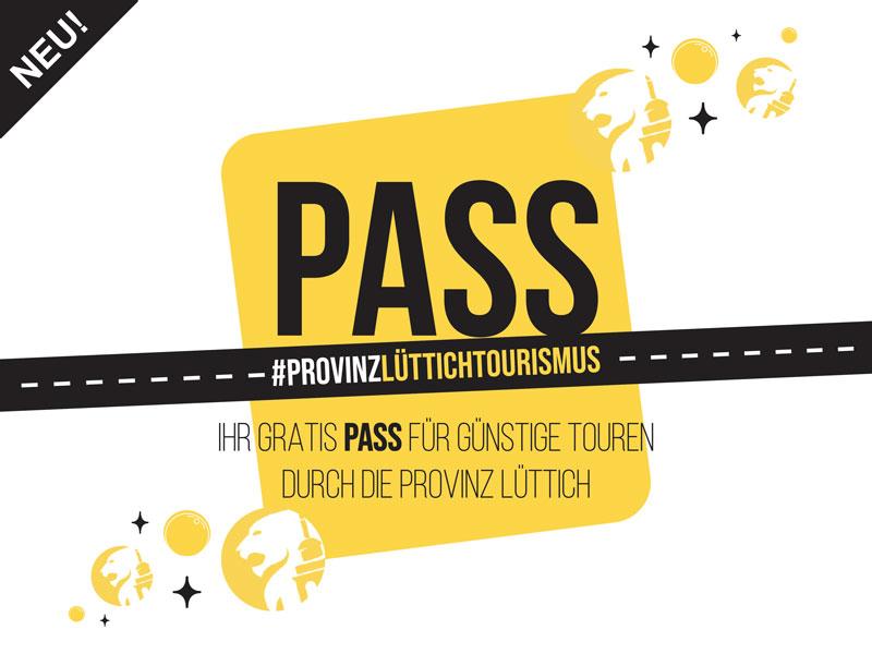 Der PASS #ProvinzLÜTTICH TOURISMUS