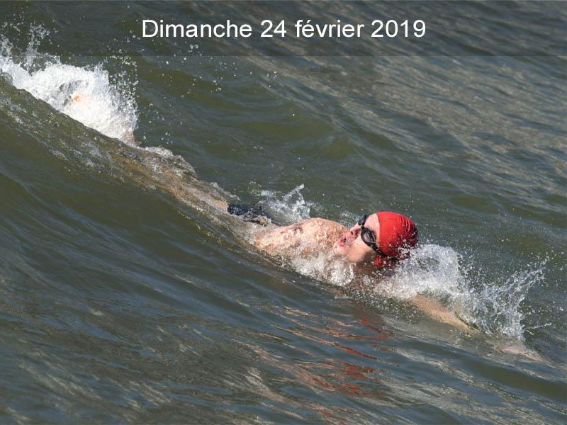 Traversée hivernale de la Meuse