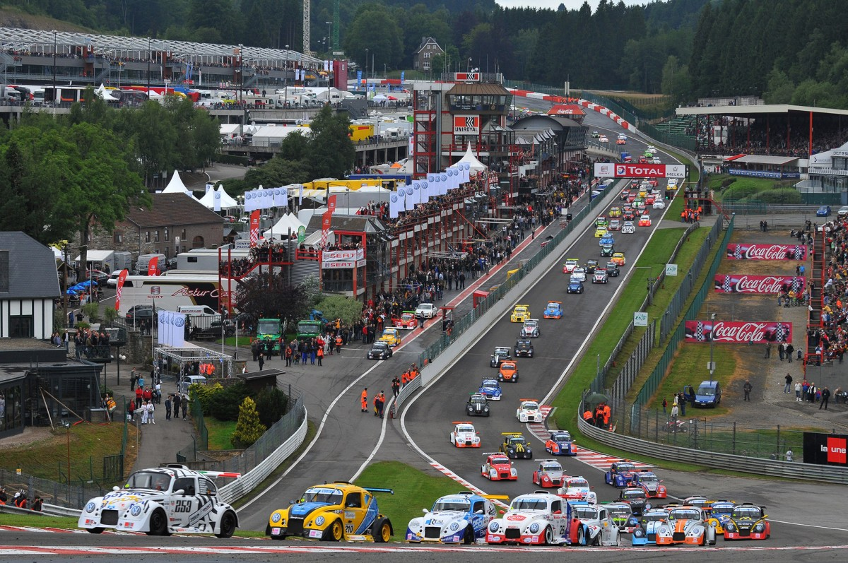 25 heures VW Fun CUp - Spa-Francorchamps