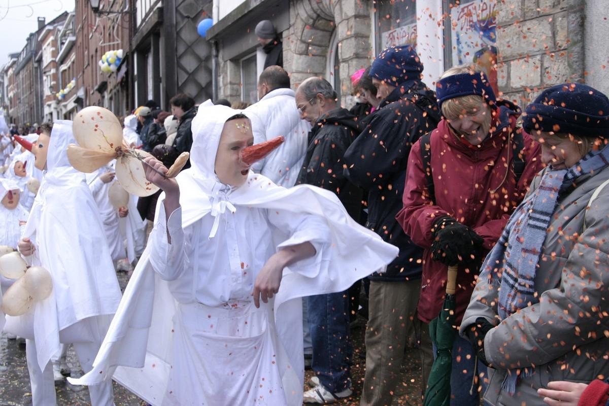 Carnaval Laetare de Stavelot - les Blancs Moussis