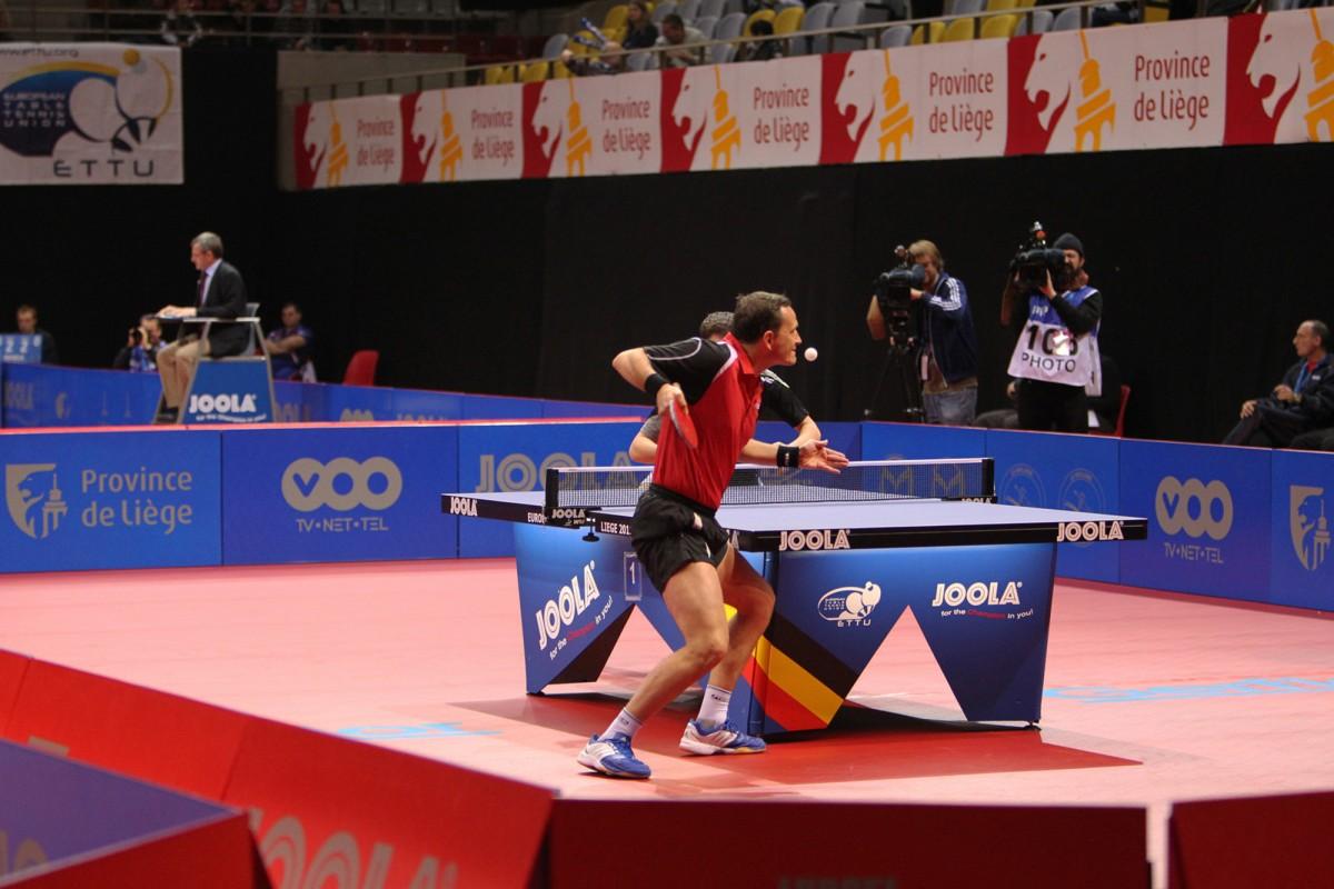 Coupe du Monde de ping-pong à Pépinster (2013)