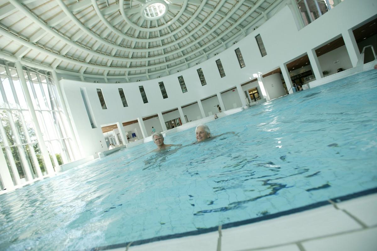 Les Thermes de Spa - piscine intérieure