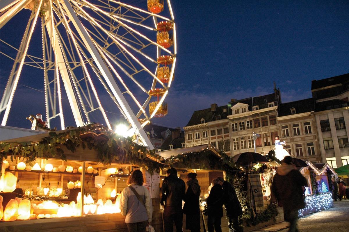 Liège, cité de Noël - Marché de Noël