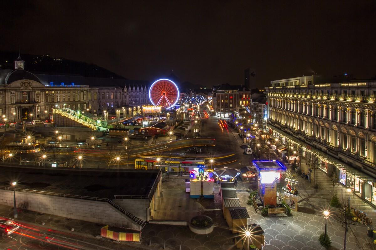 Marché de Noël de Liège - Place Saint-Lambert