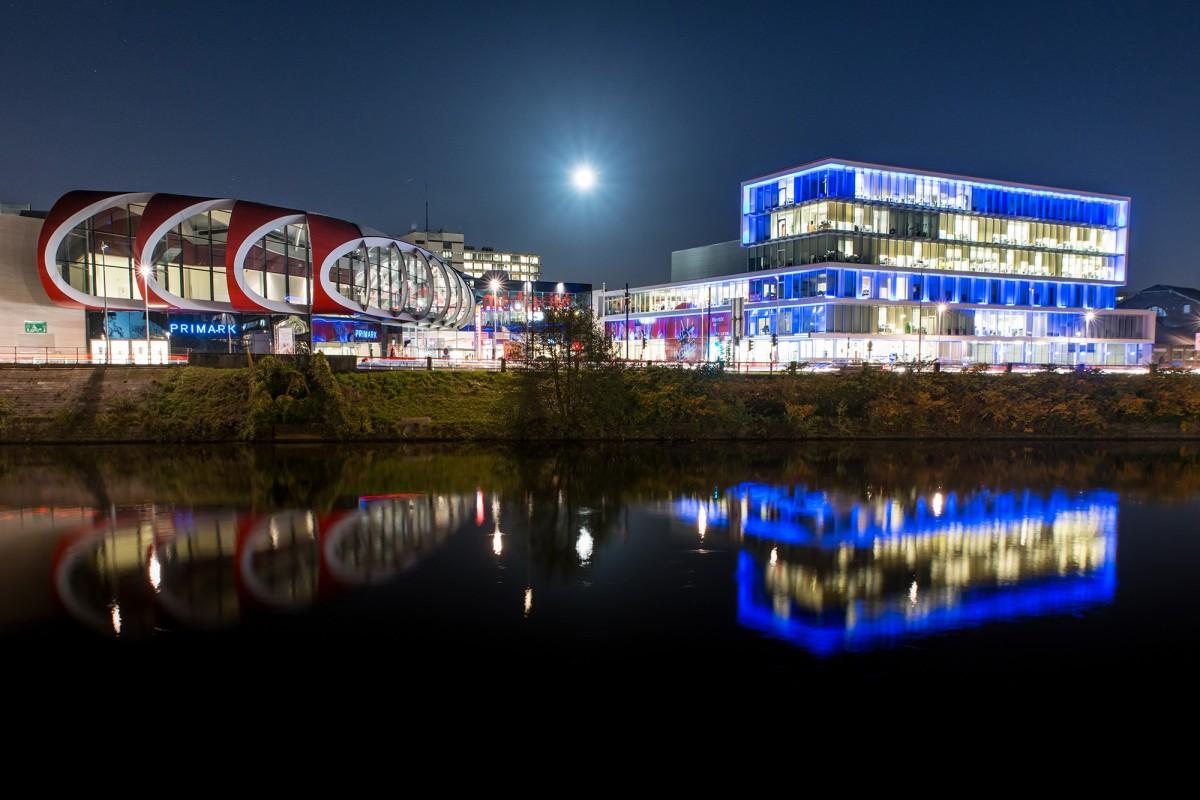 Médiacité, centre commercial - Liège