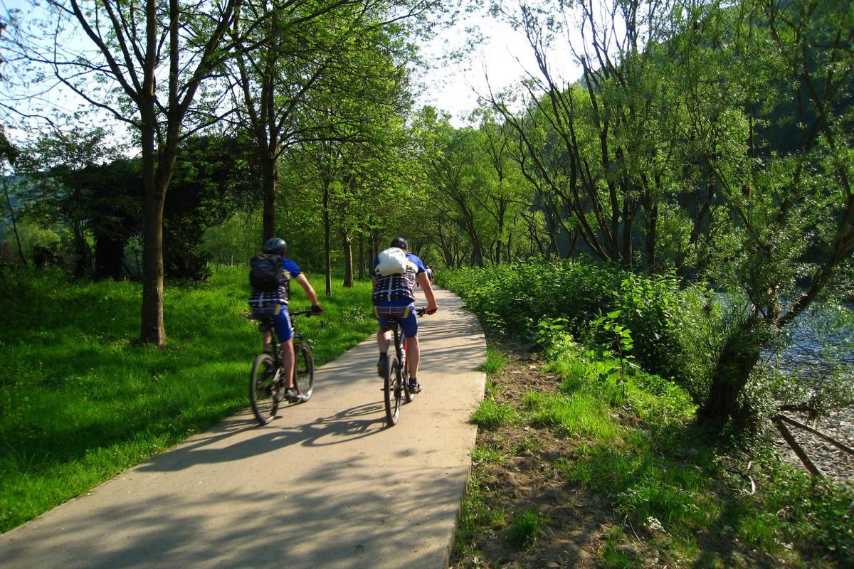 Ravel ligne 38 - balade à vélo en province de Liège et en Ardenne