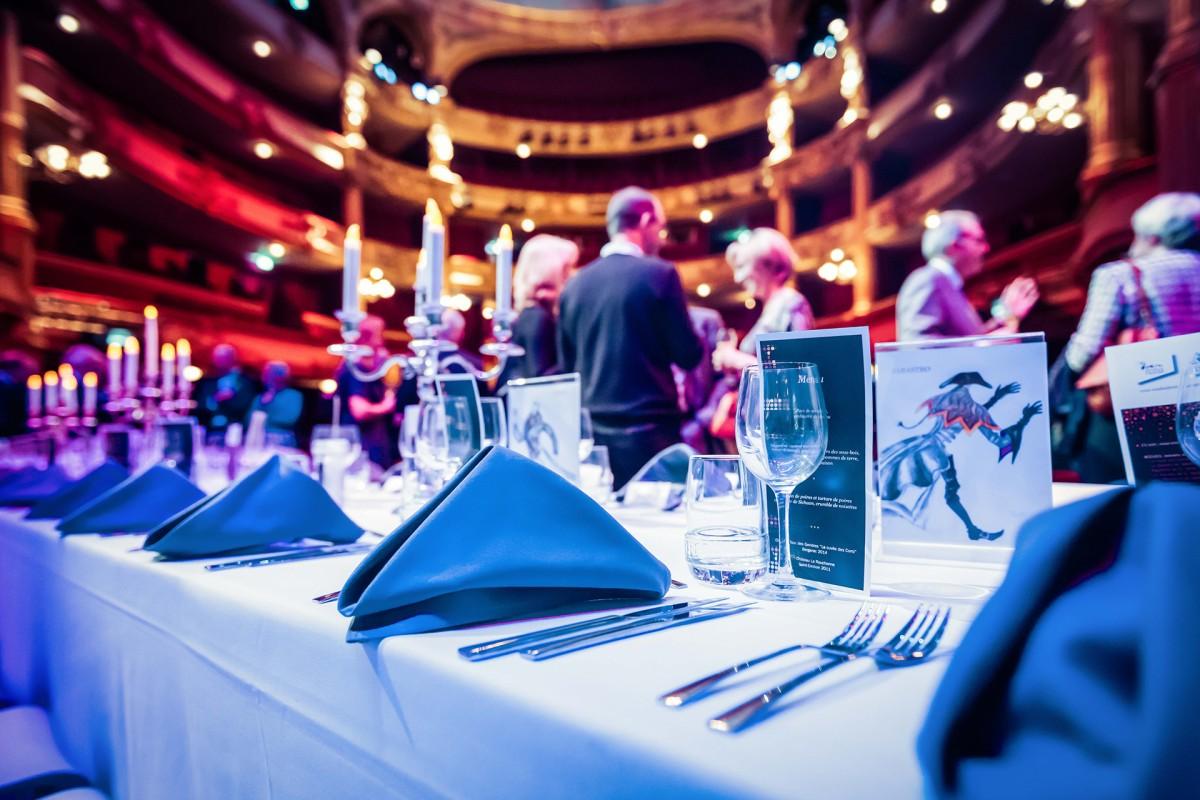 Repas sur scène - Opéra Royal de Wallonie