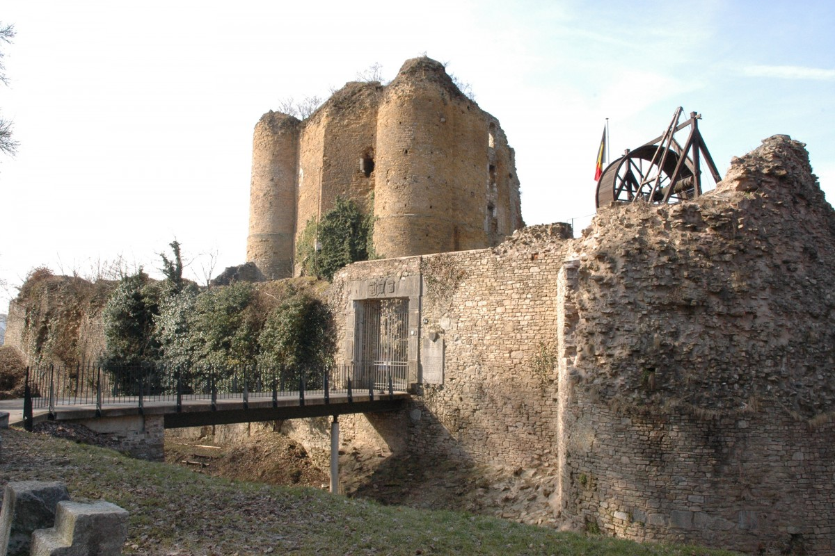 Ruines du château fort de Franchimont