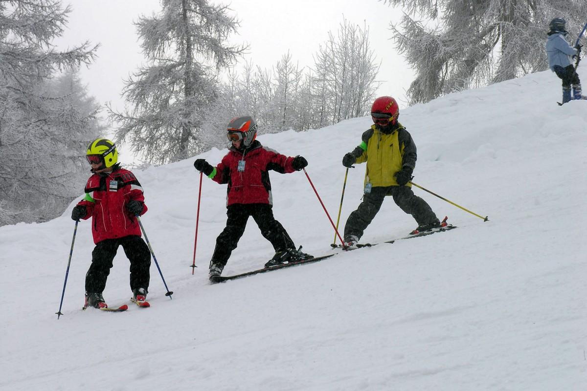 Ski alpin dans les Fagnes