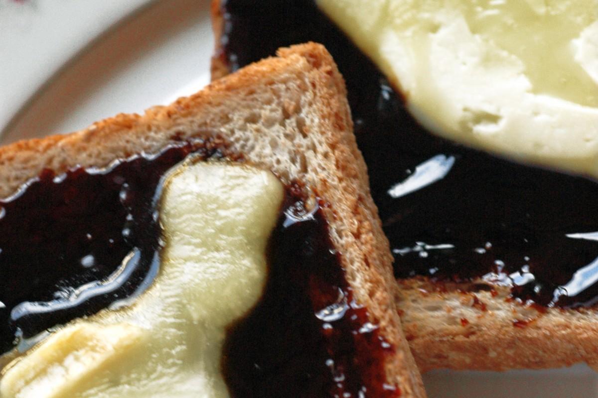 Toast au fromage de Herve