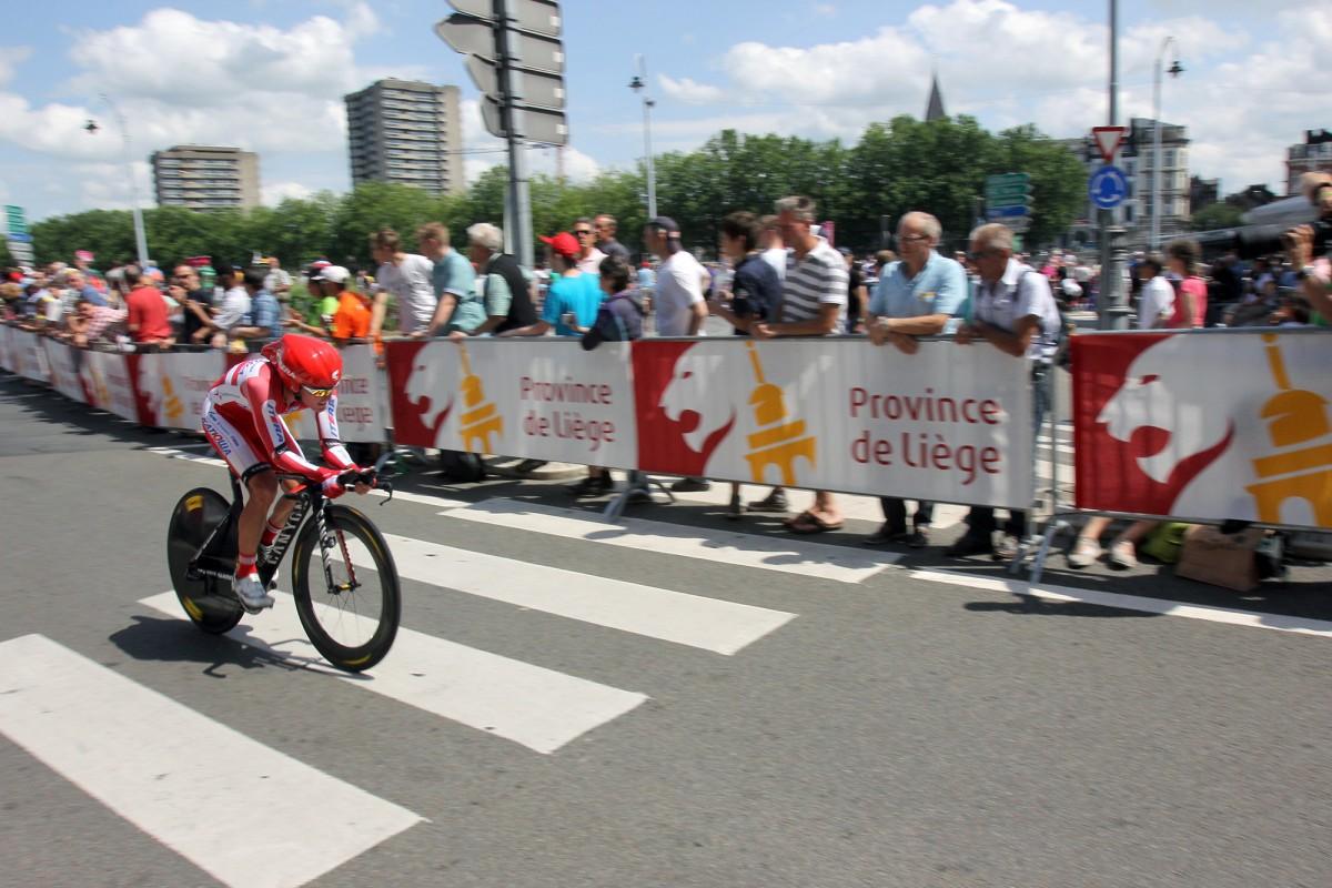 Tour de France en province de Liège