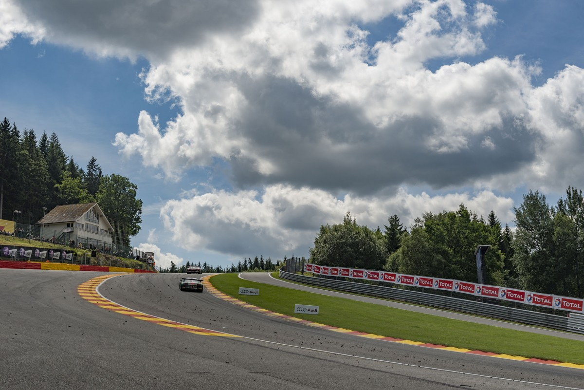 Virage le Raidillon - Spa-Francorchamps