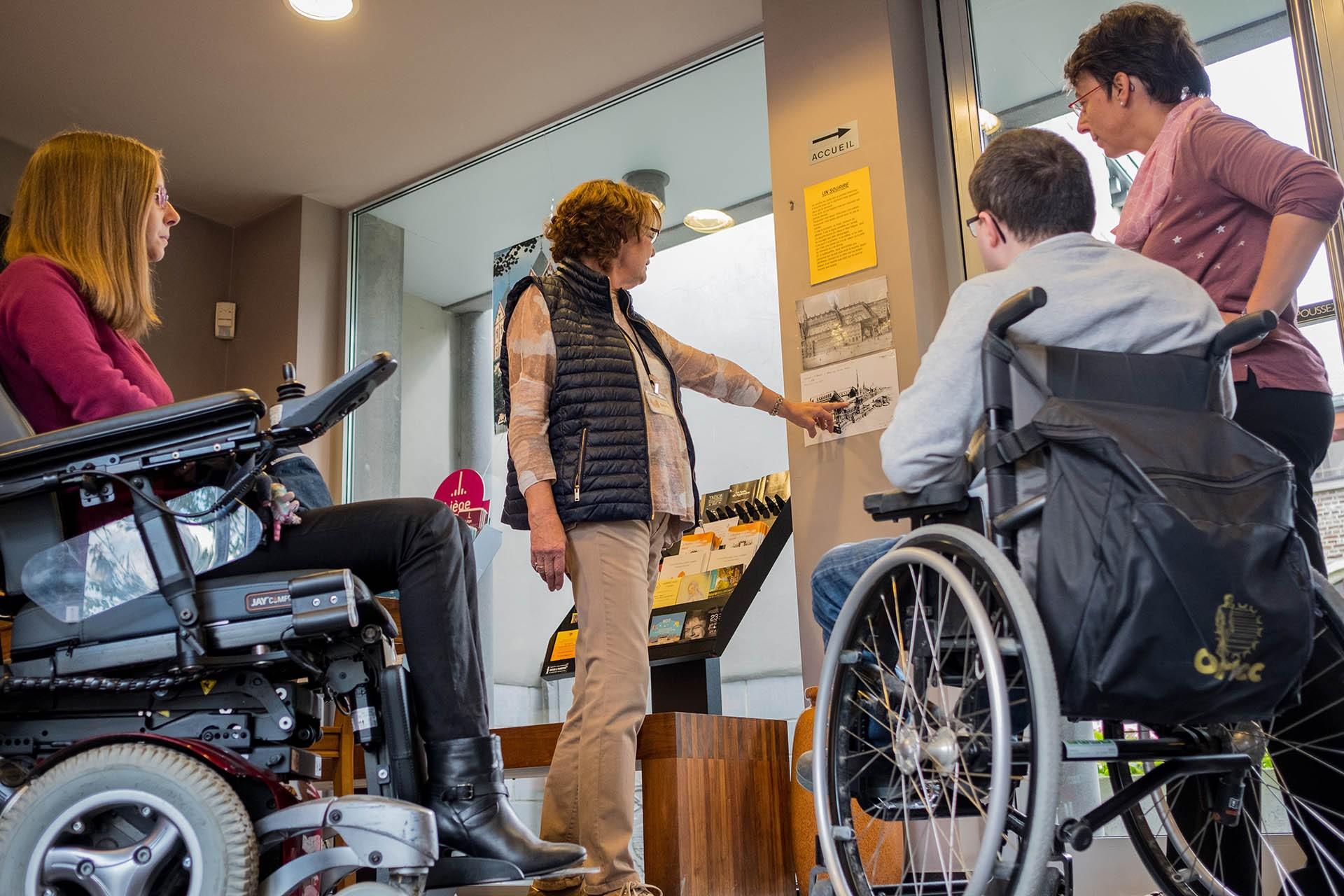 ACCESS-i - Accès aux personnes à mobilité réduite