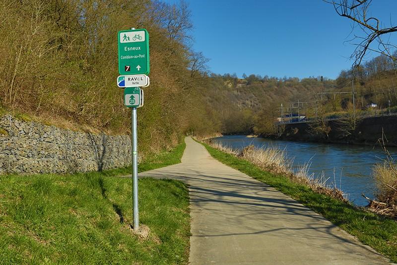 Balades Vélo–Train–Paysages - La Vallée de l'Ourthe