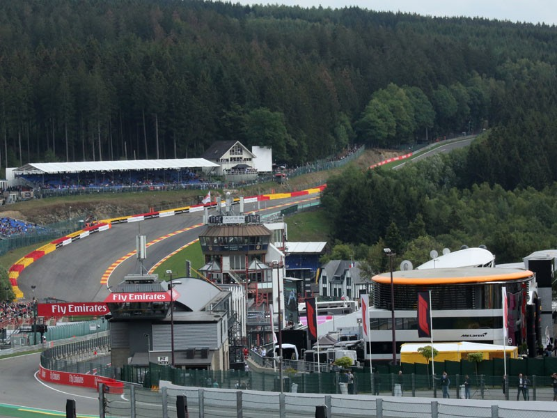 Track introduction - Spa Francorchamps
