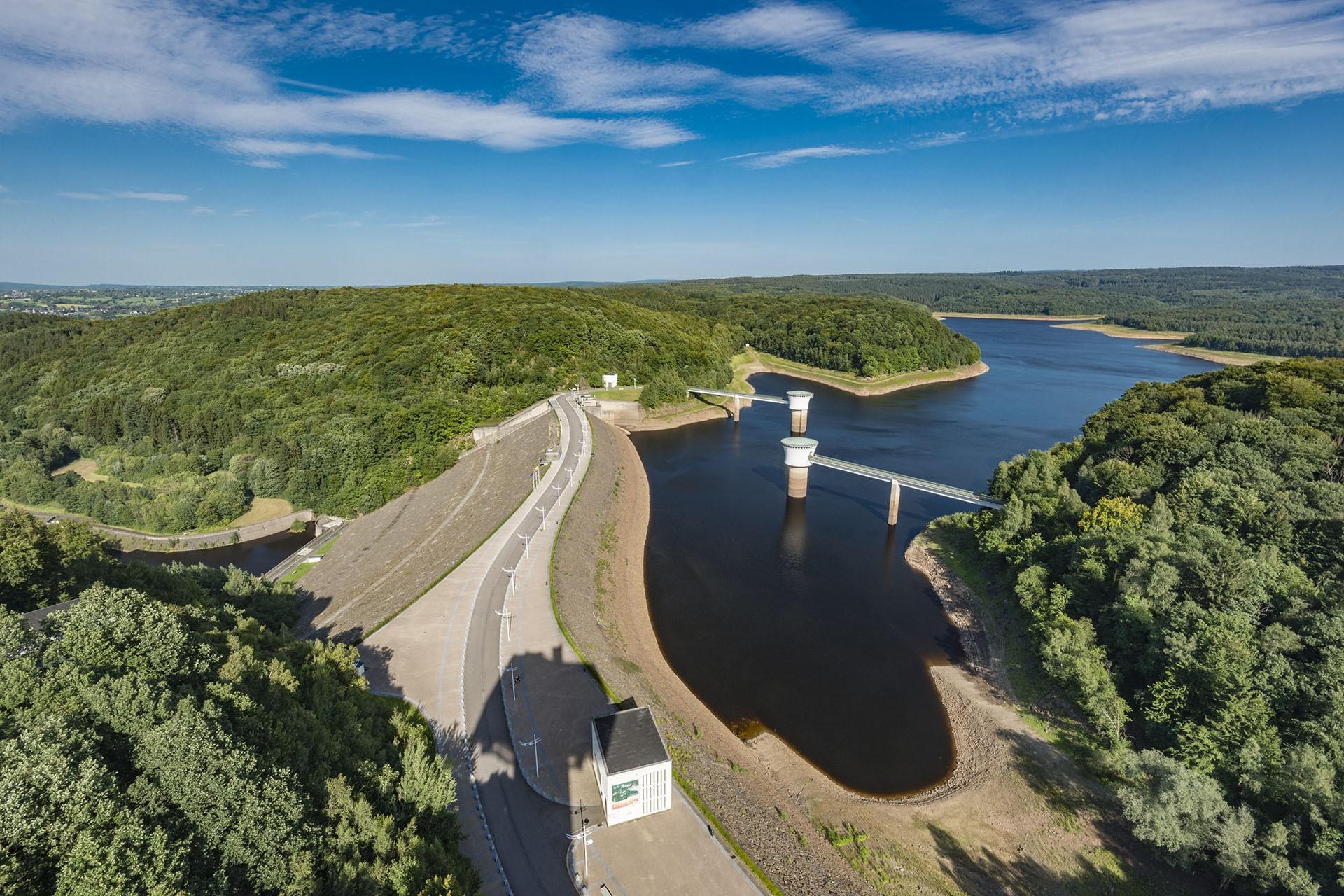 The Gileppe dam