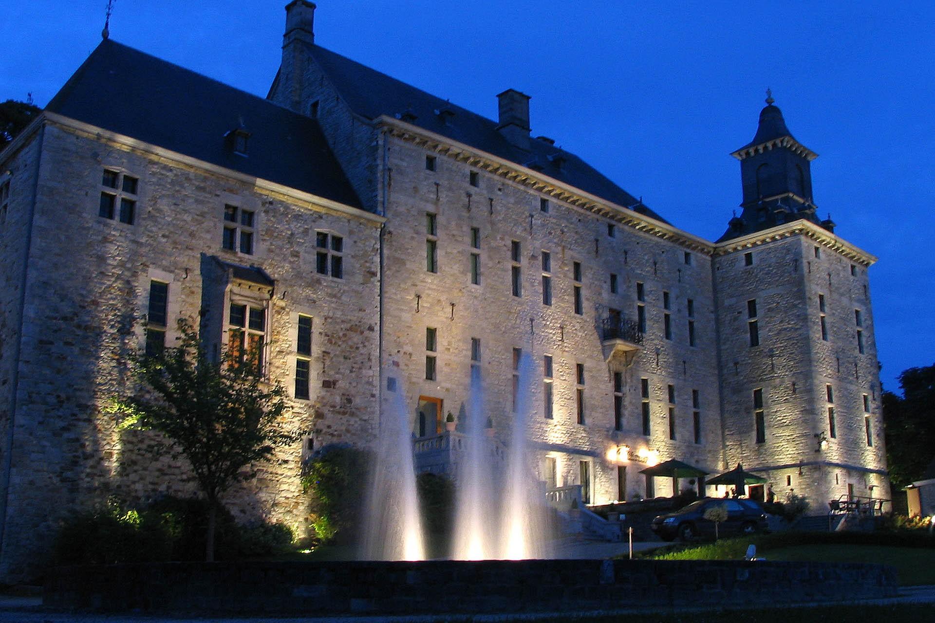 Château de Harzé  - Vue de nuit