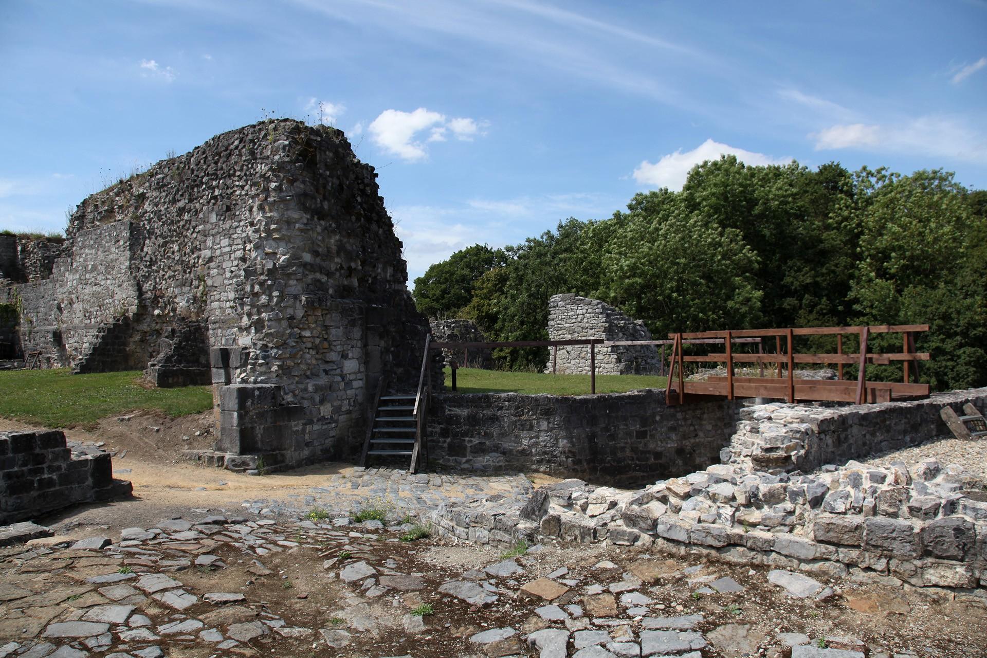 Mittelalterliche Burg von Moha